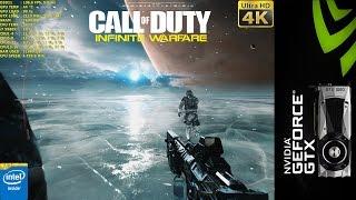 Call of Duty Infinite Warfare 4K | GTX 1080 | i7 5960X 4.5GHz [4K]