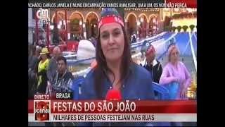 CMTV em direto na Noite do São João de Braga
