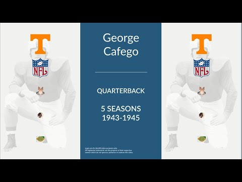 George Cafego: Football Quarterback