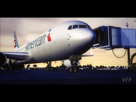 FSX Movie - American Airlines Livery Journey
