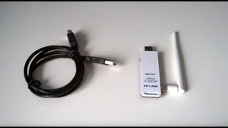 TP-Link TL-WN722N - unboxing