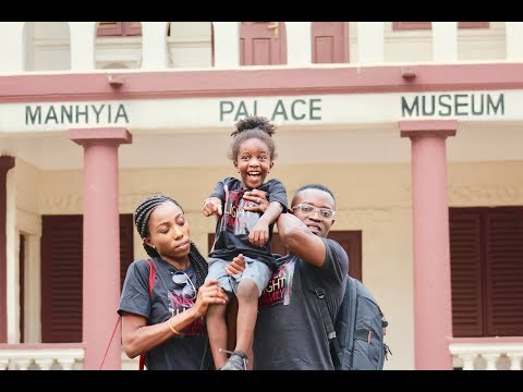 Royal Experience at a Palace in Kumasi - Ashanti Region of Ghana -  Vlog 8