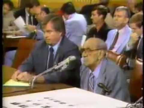 Tony Accardo Testifies Before Congress 1984