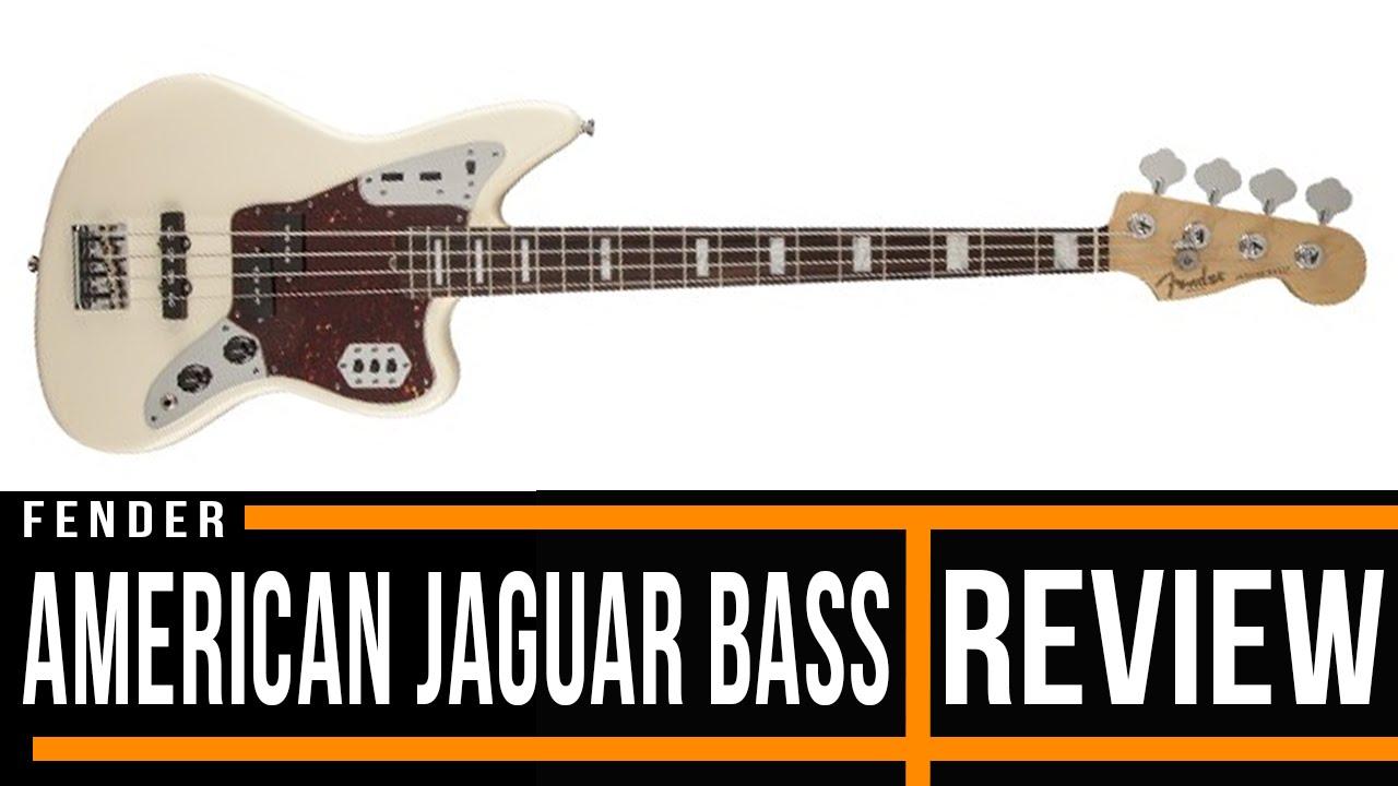 hight resolution of fender american standard jaguar bass guitar review