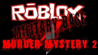 Best places to hide & tactics in MILBASE map! Roblox | Murder Mystery 2