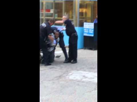 Police brutality in mt. Clemens Michigan