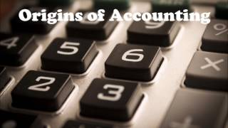 Origins of Accounting