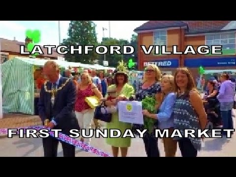 Latchford Village First ever Sunday Market Warrington 23/08/2015
