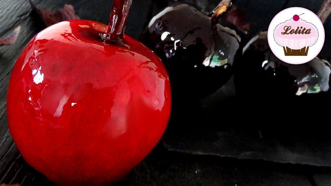 Resultado de imagen para manzanas xaramelizadas de halloween