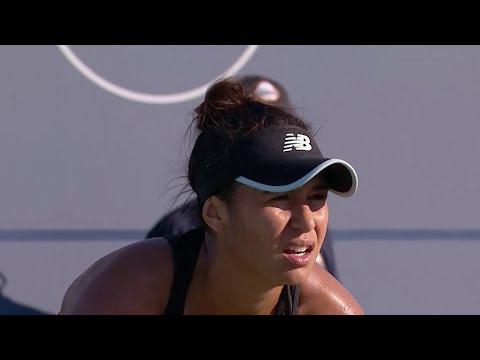 Heather Watson Wins 100th WTA Singles Match At 2018 US Open Series Mubadala Silicon Valley Classic