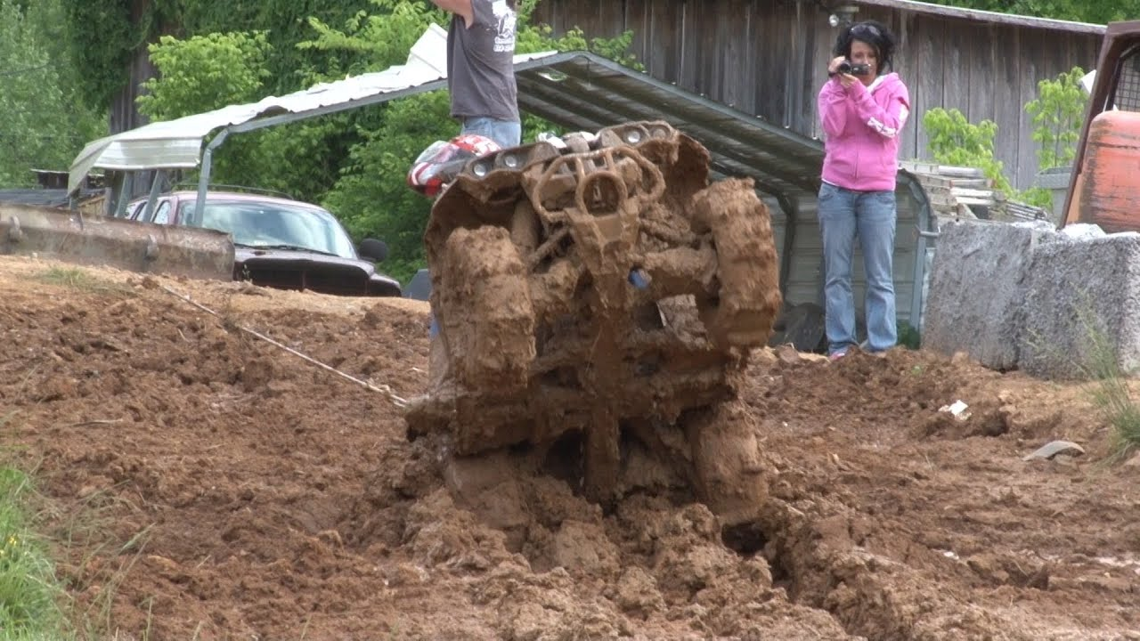 Toby S Can Am At Bill Wards Mud Bog Youtube
