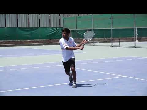 College Tennis Recruiting Video - Aman Patel
