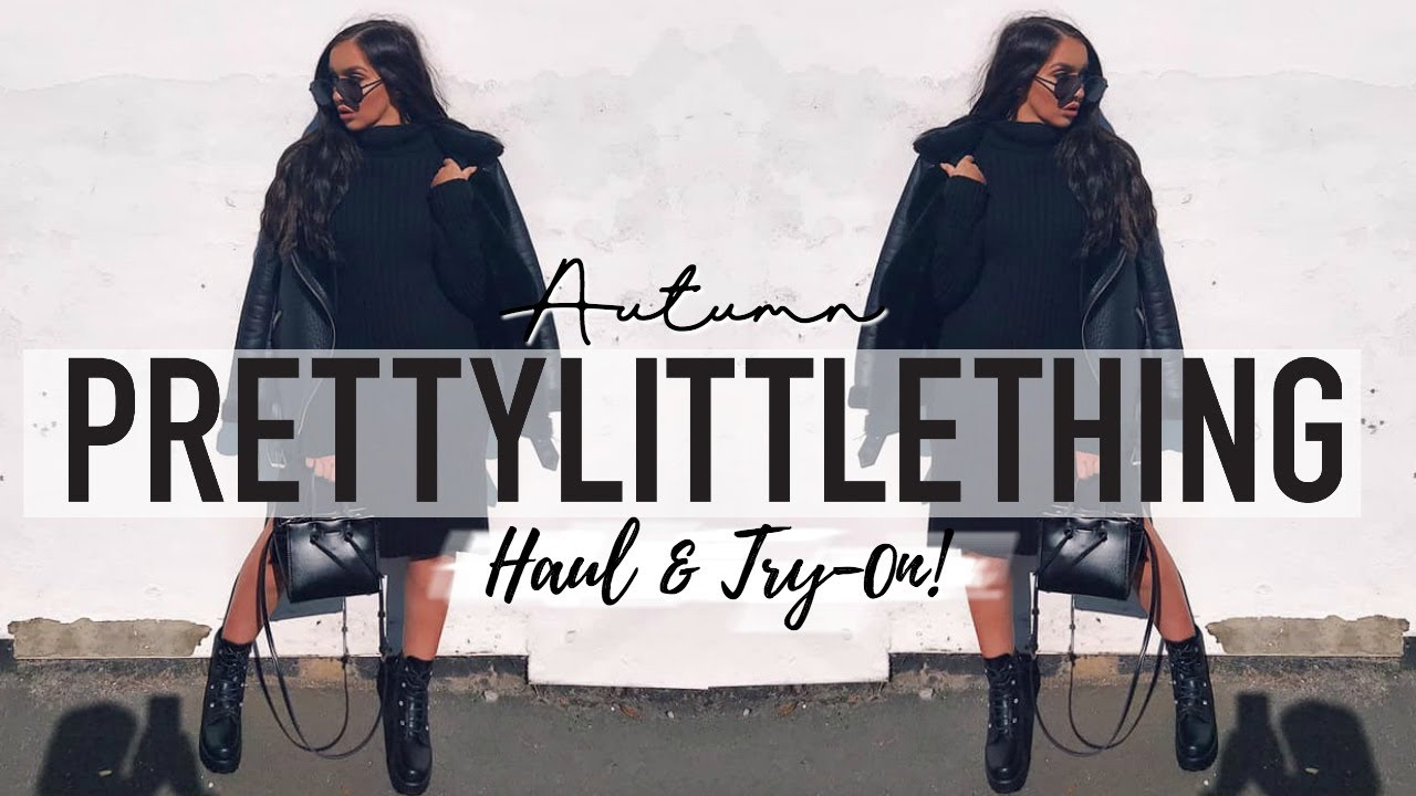 [VIDEO] - HUGE AUTUMN PRETTY LITTLE THING HAUL + TRY-ON! // A/W OUTFIT IDEAS! 4