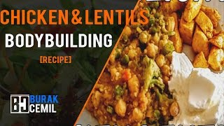 [MEAL] Simple Lunch Meal Prep - Chicken with Lentils and Veggies