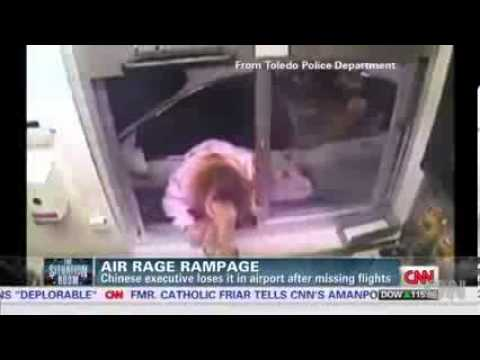 See Chinese executive's air rage rampage