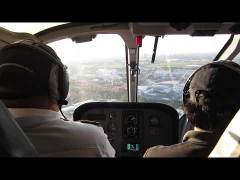 First Flight with Advance Aviation (EC-130)