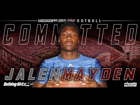 4-Star QB Jalen Mayden commits to Mississippi State