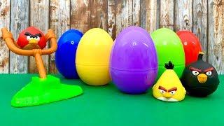 Angry Birds  एंग्री बर्ड्स, आश्चर्य अंडे, बच्चों की परियों की कहानी, पेप्पा सुअर