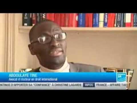 Me Abdoulaye TINE Avocat au Barreau de Paris :L'Afrique et la Cour pénale internationale.