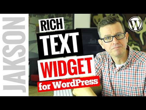 WordPress black studio tinymce widget