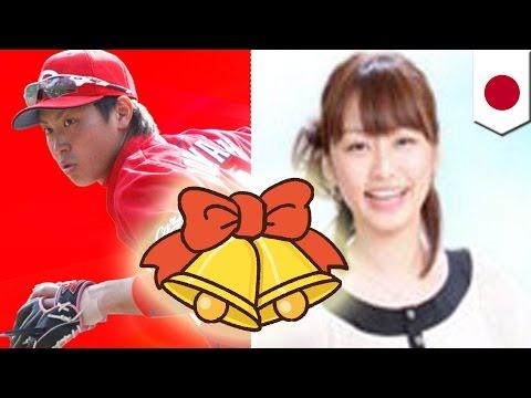 カープ女子ショック!?広島堂林、枡田アナと結婚
