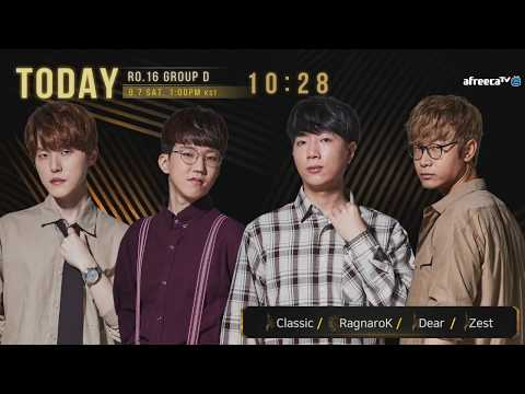 ENG] 2019 GSL S3 Code S RO16 Group D - YouTube