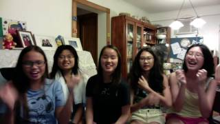 This was the night before the first day of school! We had a sleepover and did tons of lip-syncs! I love you guys so much!!! I can't imagine my life without all ma ...