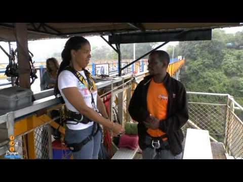 Victoria Falls Bridge Swing - 2/11/13