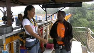 Victoria Falls Bridge Swing!! - 2/11/13