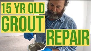 How to Grout Repair DIY | Quick Fix