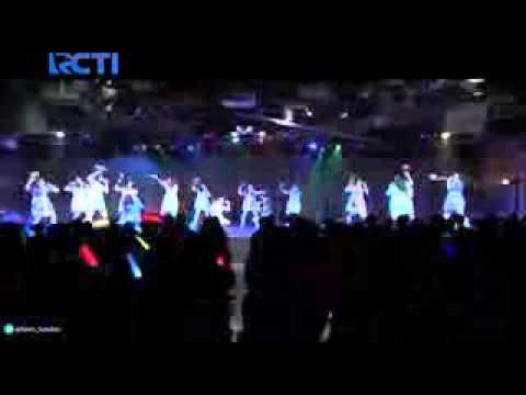 Peserta IdolaCilik Berkunjung ke theater JKT48
