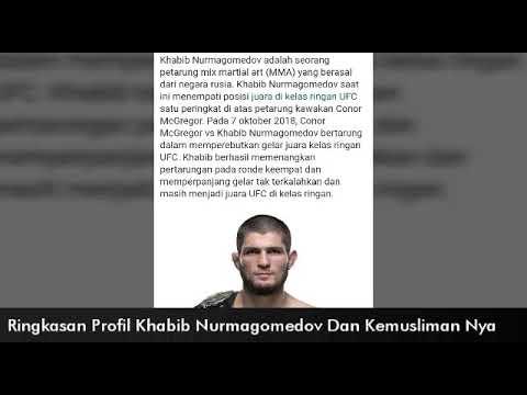 Ringkasan Profil Khabib Nurmagomedov