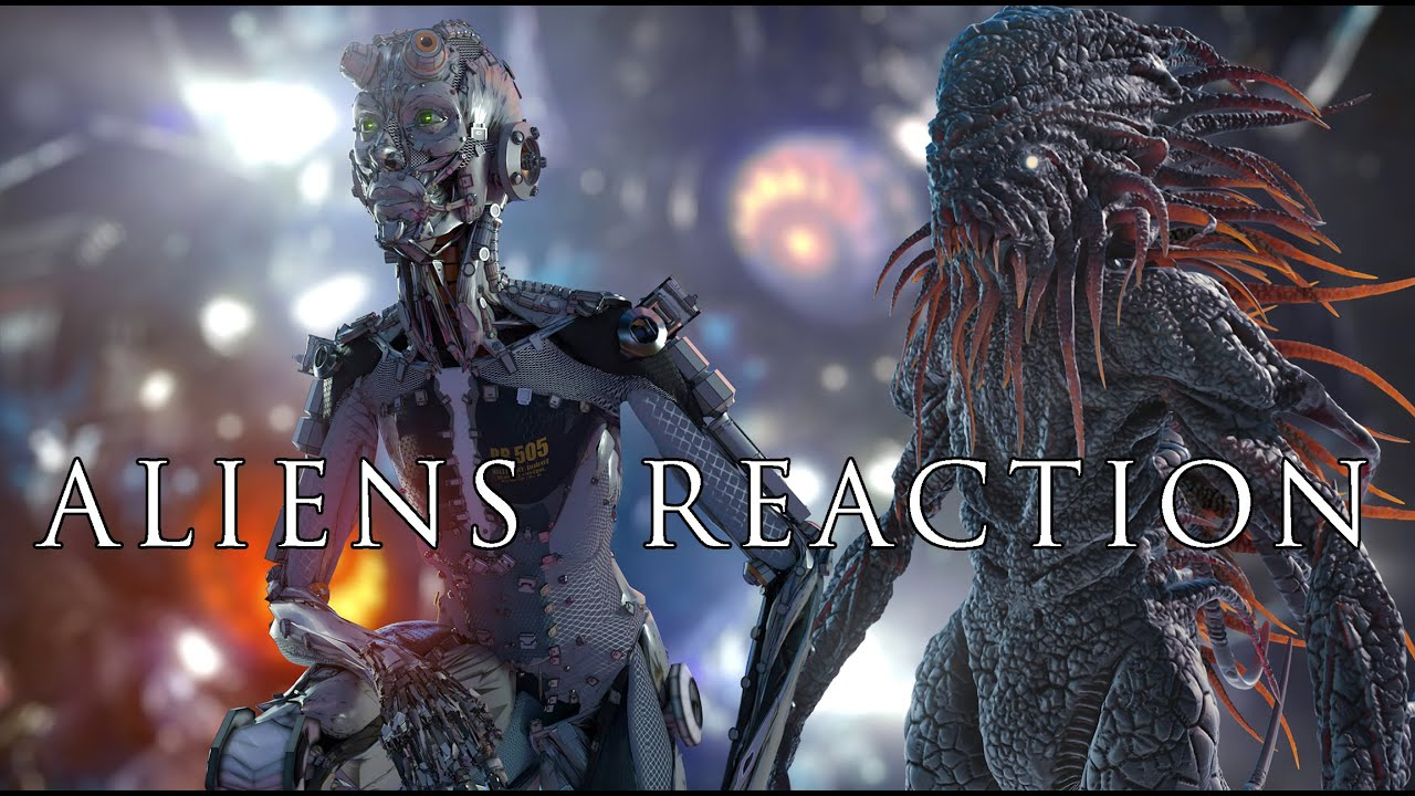 Download Science Fiction Movie - ALIENS REACTION 2021- Directed by ALI POURAHMAD / Alien Movies/Sci Fi Movies