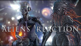 Science Fiction Movie - ALIENS REACTION 2021- Directed by ALI POURAHMAD / Alien Movies/Sci Fi Movies
