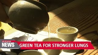 Drinking two cups of green tea per day can reduce COPD risk by nearly 40%