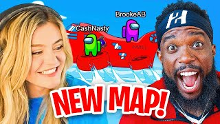 2HYPE Plays NEW Among Us Airship Map w/ Brookeab, AustinShow & More!