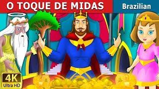 O TOQUE DE MIDAS   Contos de Fadas   Brazilian Fairy Tales