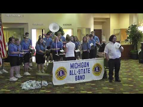 2018 Lions of Michigan All State Band 5-19-18