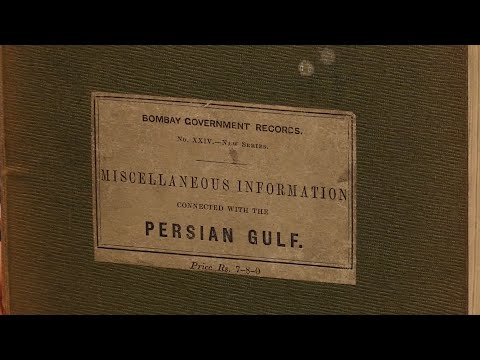 Miscellaneous Information Connected with the Persian Gulf, Bombay Government Records. First Edition