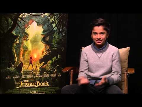 THE JUNGLE BOOK - Neel  Sethi Interview