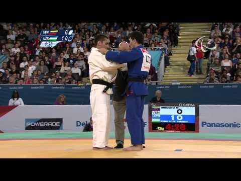 Judo - VEN versus UZB - Men -73 kg Preliminary Round of 16 - London 2012 Paralympic Games