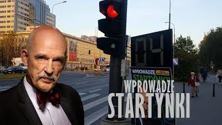 Wprowadzę startynki - Janusz Korwin-Mikke