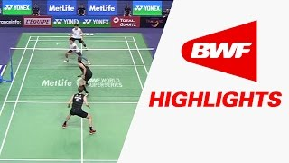 Yonex French Open 2016 | Badminton F – Highlights