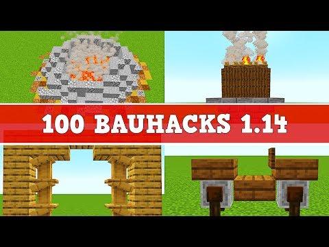100 Bauhacks In Minecraft 1.14   100 Minecraft 1.14 Tipps Und Tricks