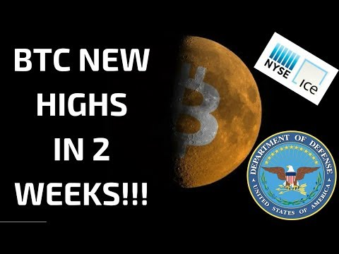 """Bitcoin Testing Highs In 2 Weeks ?! Department of Home Defense Says """"Blockchain Uses Are Limitless"""""""
