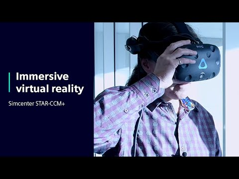 Immersive Virtual Reality in STAR-CCM+