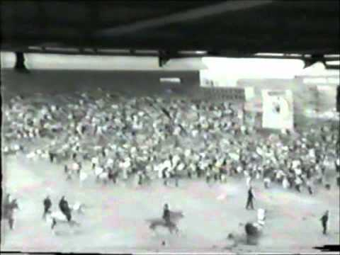 Football Hooligans - Birmingham City V Leeds United 1985