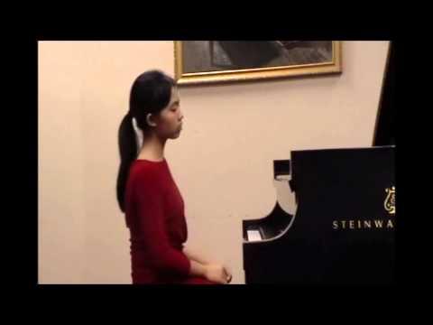 Mozart Piano Sonata in D Major, No. 18, K 576 (Janet Wu, Piano)