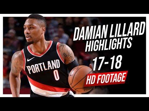 Blazers PG Damian Lillard 2017-2018 Season Highlights ᴴᴰ