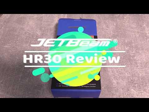 Jetbeam/Niteye HR30 950 Lumen Review - Kopflampe mit Rotlicht